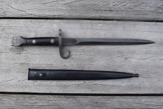 Netherlands : Dutch (Indonesia) M1895 KNIL bayonet (ABCN 368)(ABN697