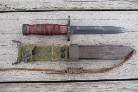 Dutch M4 1951 bayonet, Second model (ABC N 129-2)(K 31)(JN)